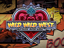 Wild Wild West: The Great Train Heist: автомат от Netent